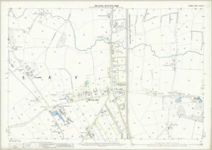 Surrey XXXIV.16 (includes: Horley) - 25 Inch Map