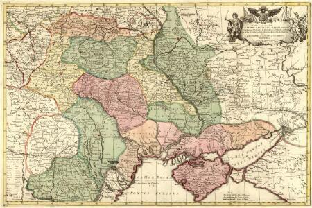 Carte exacte d'une Partie de l'Empire de Russie et de la Pologne meridionale