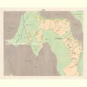 Lomna (Lomno) - m0508-1-017 - Kaiserpflichtexemplar der Landkarten des stabilen Katasters
