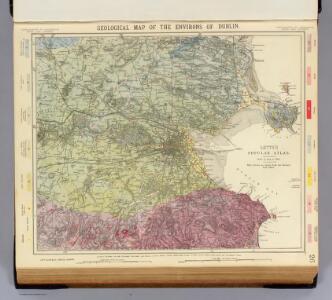 Geological map Dublin.