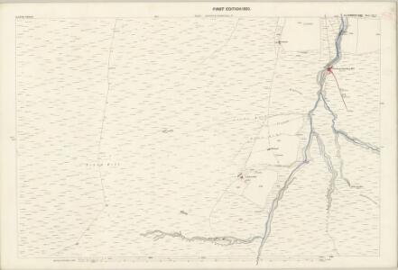 Cumberland LII.2 (includes: Alston with Garrigill) - 25 Inch Map
