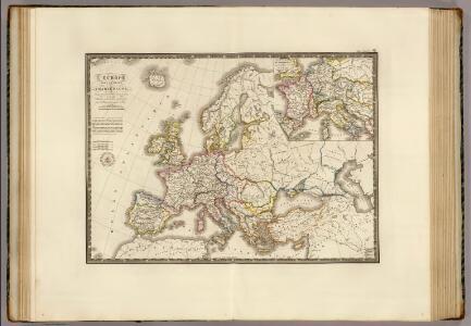 L'Europe sous l'Empire de Charlemagne.