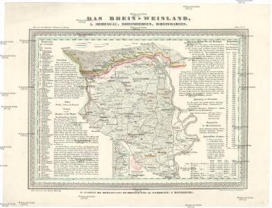Das Rhein-Weinland