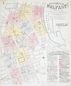 Insurance Plan of Belfast Vol. 1: Key Plan