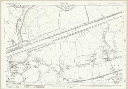 Lancashire CXVI.3 (includes: Grappenhall; Lymm; Rixton With Glazebrook; Woolston) - 25 Inch Map
