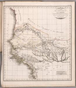 Carte de la cote occidentale de l'Afrique