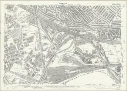 London (1915- Numbered sheets) IV.6 (includes: Acton; Hammersmith; Willesden) - 25 Inch Map