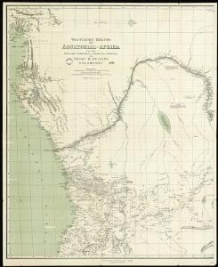 Western half of Equatorial Africa and the expeditions on land and sea by Henry M. Stanley during 1874-77