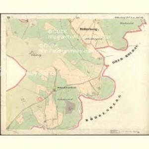 Mitterberg - c6304-2-007 - Kaiserpflichtexemplar der Landkarten des stabilen Katasters