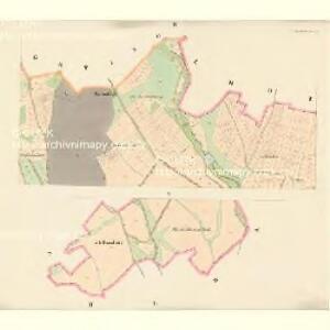 Kuniowitz (Kuniowice) - c3706-1-002 - Kaiserpflichtexemplar der Landkarten des stabilen Katasters