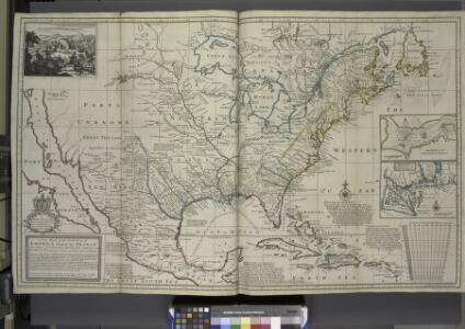 A new map of the north parts of America claimed by France under ye names of Louisiana, Mississipi, Canada and New France, with ye adjoyning territories of England and Spain ... / ... laid down according to the newest and most exact observations by H. Mol