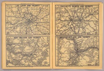 St. Louis, New Orleans, Dallas Ft. Worth, Portland.