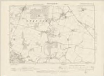 Hertfordshire XXII.SW - OS Six-Inch Map