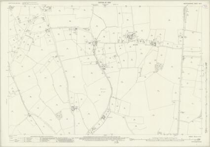 Hertfordshire VIII.4 (includes: Kelshall; Reed; Therfield) - 25 Inch Map