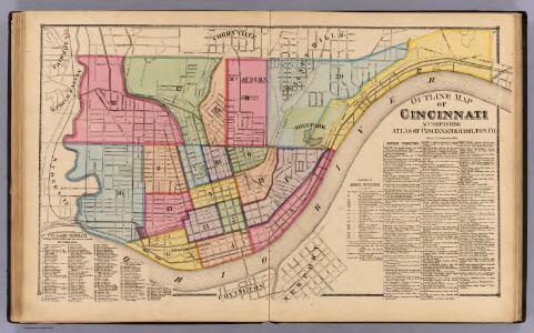 Cincinnati outline.