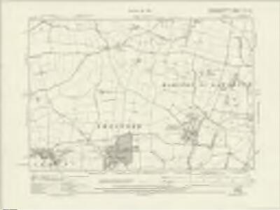 Northamptonshire LVIII.NE - OS Six-Inch Map