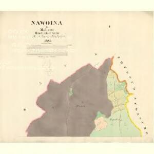 Nawoina - m1934-1-001 - Kaiserpflichtexemplar der Landkarten des stabilen Katasters