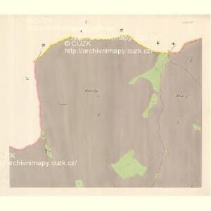 Zubrzy (Zubřzy) - m3614-1-001 - Kaiserpflichtexemplar der Landkarten des stabilen Katasters
