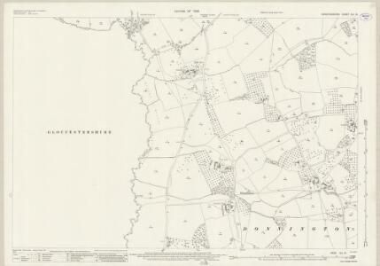 Herefordshire XLI.12 (includes: Donnington; Dymock; Ledbury Rural) - 25 Inch Map