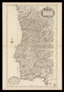Le Portugal et ses rontieres avec l'Espagne / par ordre de M. le duc de Choiseul par le Sr. Bellin