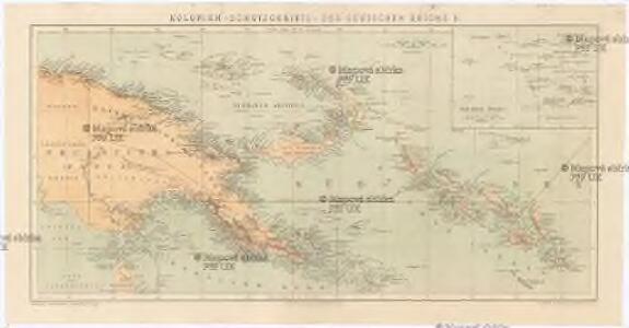 Kolonien (Schutzgebiete) des Deutschen Reichs