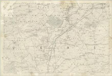 Lancashire LVI - OS Six-Inch Map