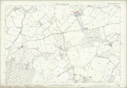 Gloucestershire XXIV.2 (includes: Newent; Taynton) - 25 Inch Map