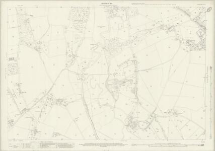 Surrey XXIV.1 (includes: Send; Woking) - 25 Inch Map