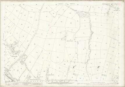 Nottinghamshire XXIX.16 (includes: Hockerton; Southwell; Upton) - 25 Inch Map