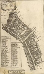 PORTSOKEN WARD being part of the Parish of St. Buttolph's Aldgate taken from the last Survey with corrections and Additions. 33A