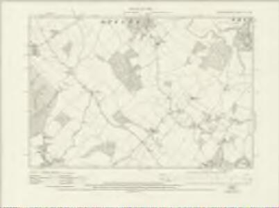 Hertfordshire XI.SE - OS Six-Inch Map