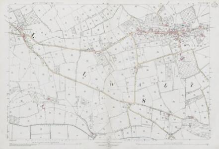 Somerset LII.13 (includes: Ashcott; Walton) - 25 Inch Map