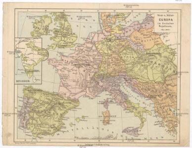 West- u. Mittel- Europa im Zeitalter Napoleons (bis 1810)