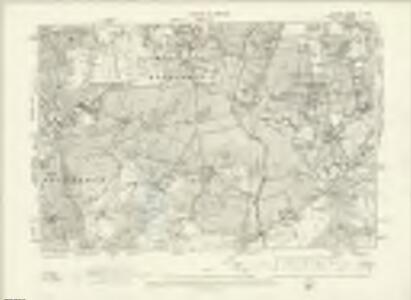 London X.SW - OS Six-Inch Map