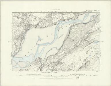 Merionethshire XXXVI.NW - OS Six-Inch Map