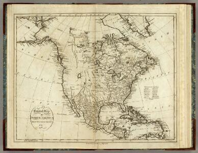 Map of North America.