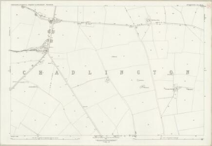 Oxfordshire XX.3 (includes: Chadlington; Churchill; Sarsden; Spelsbury) - 25 Inch Map