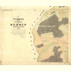 Tweras - c7609-1-001 - Kaiserpflichtexemplar der Landkarten des stabilen Katasters
