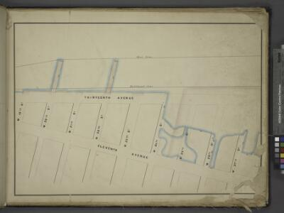 [Map bounded by Pier - Line, W. 27th St, Eleventh     Avenue, W.19th St; Including W. 20th St, W. 21st St, W. 22nd St, W. 23th St, W.  24th St, W. 25th St, W. 26th St]