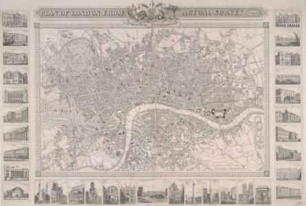 PLAN OF LONDON FROM AN ACTUAL SURVEY 243