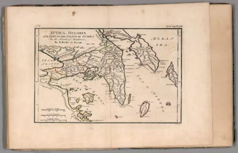 Attica, Megaris and part of the Island of Euboea. No. 9