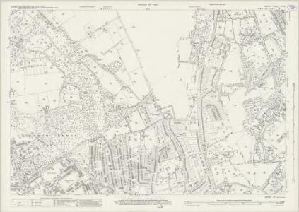 Surrey XX.14 (includes: Caterham; Coulsdon) - 25 Inch Map