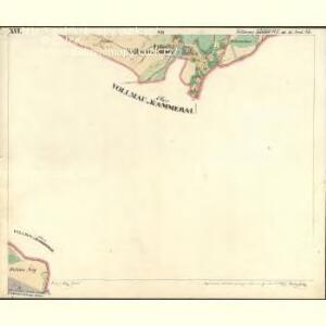 Vollmau Unter - c1279-1-016 - Kaiserpflichtexemplar der Landkarten des stabilen Katasters