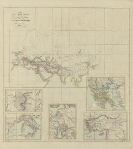 III. Charte für die allgemeine Geschichte vom Anfange der Perserkriege bis auf des Augustus Alleinherrschaft : d.i. von 501 bis 30 vor Christus