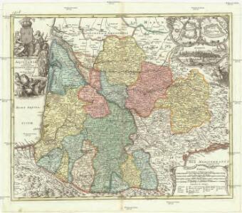 Tabula Aquitaniae complectens gubernationem Guiennae, et Vasconiae