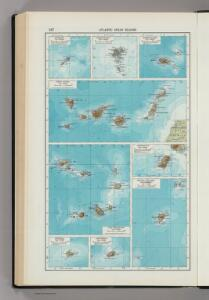 247.  Atlantic Ocean Islands.  The World Atlas.