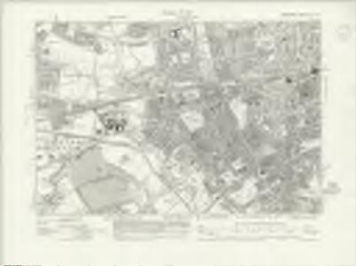 Middlesex XV.SE - OS Six-Inch Map