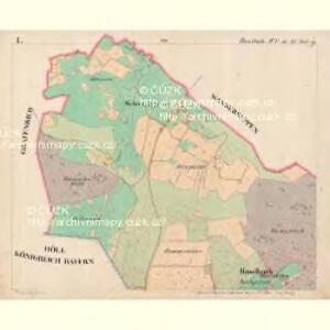 Haselbach - c4128-3-001 - Kaiserpflichtexemplar der Landkarten des stabilen Katasters