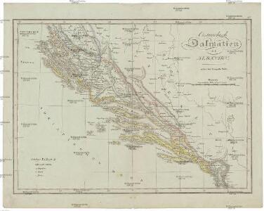 Oestreichisch Dalmatien und Albanien