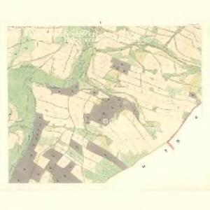 Siebenhöfen (Sedmidwory) - m2709-1-005 - Kaiserpflichtexemplar der Landkarten des stabilen Katasters